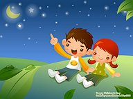 Childrens''s Day Illustrations - Lovely playpals16 pics