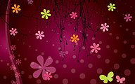 Vector Flower Patterns Background25 pics