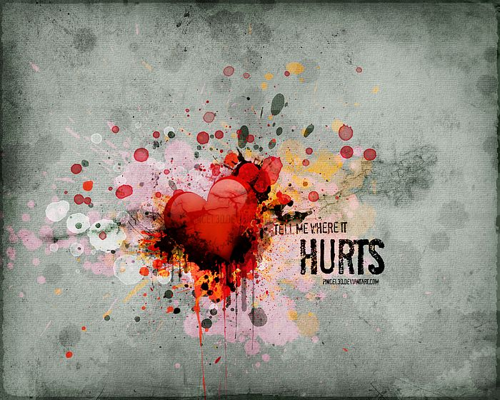 love hurts wallpapers. Hearts of Love - Valentine#39;s