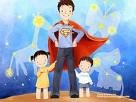 Father''s Day and Family Love �� Kim Jong Bok Illustrations16 pics