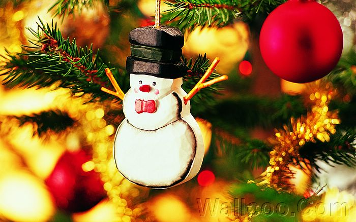 Picture: Lovely Snowman Ornament, Christmas Tree Snowman ...
