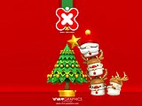 Christmas illustration wallpaper - Christmas Graphic20 pics