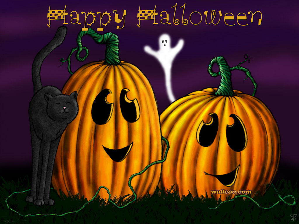 Happy Halloween By Crickbow 1024768 NO9 Wallpaper
