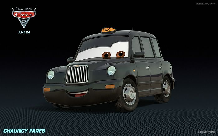 Taxi In Cars 2 Movie Wallpapers 14 Wallcoo Net