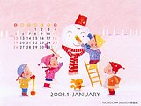 January 2003 Calendar Wallpapers5 pics