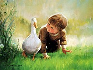 Early Childhood (Vol.01) : Donald Zolan Paintings of Heartwarming Childhood Innocence45 pics