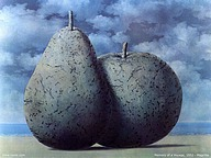 Belgian surrealist : Rene Magritte   Paintings5 pics